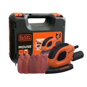 Black+Decker BEW230K 55Watt Mouse™ Çok Amaçlı Zımpara