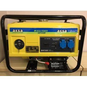 Aksa AAP 3500 E Benzinli Portatif Jeneratör Elektrikli Monofaze 3.5 kVA