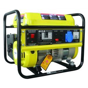 Aksa AAP 1200 Benzinli Portatif Jeneratör İpli Monofaze 1.2 kVA