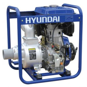 Hyundai DHY100LE Dizel Su Motoru Marşlı 10 Hp Büyük Depolu