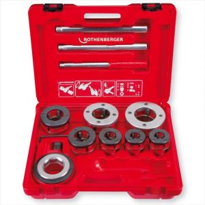 Rothenberger SUPER CUT - Set Ø 1/2'' - 2'' Pafta Kolu No.070892X