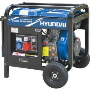 Hyundai DHY8000LEK DUAL Dizel Jeneratör Marşlı 7.5 kVA