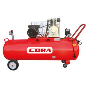 Cora 200 Yağlı Kompresör Kasnaklı 200 Lt