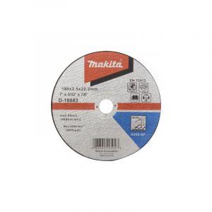 Makita D-18683 Kesme Diski 180x2.5mm Metal 50 Adet