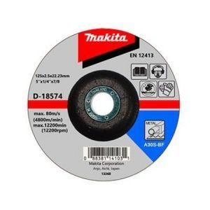Makita D-18574 Kesme Diski 125x3mm Metal 50 Adet