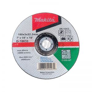 Makita D-18633 Kesme Diski 180x3mm Metal 25 Adet