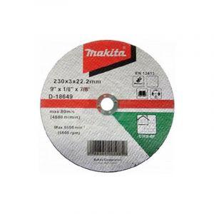 Makita D-18649 Kesme Diski 230x3mm Metal 25 Adet