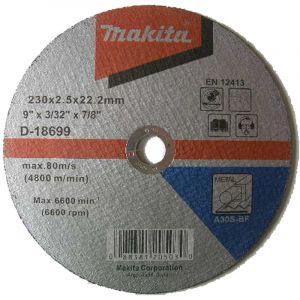Makita D-18699 Kesme Diski 230x2.5mm Metal 50 Adet