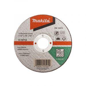 Makita D-18714 Kesme Diski 115x3mm Metal 50 Adet