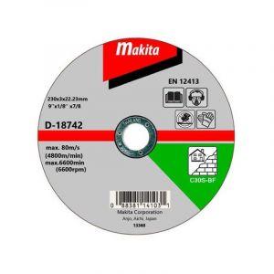 Makita D-18611 Kesme Diski 115x3mm Metal 25 Adet