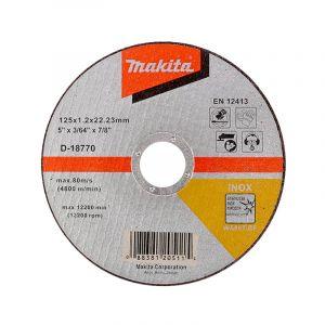Makita D-18770 Kesme Diski 125x1.2mm Metal 100 Adet