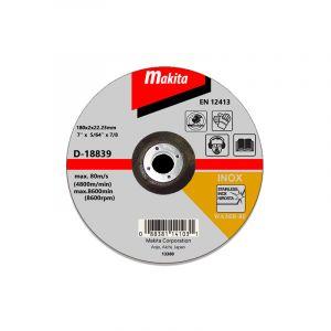 Makita D-18839 Kesme Diski 180x2mm Metal 25 Adet