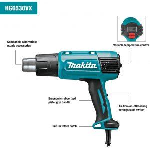 Makita HG6531CK Dijital Göstergeli Isıtıcı 2000 W