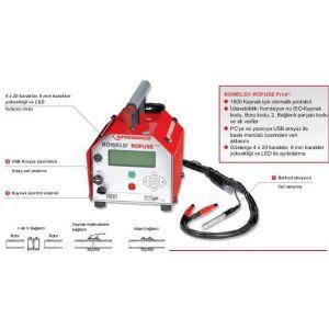 Rothenberger Roweld Rofuse Print Elektrofüzyon Kaynak Makinası 1200 MM No:1500000859