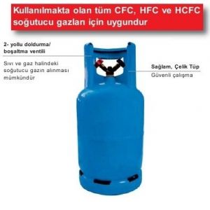 Rothenberger Soğutucu Gaz Toplama Tüpleri No.1099996